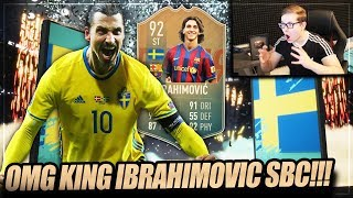 FIFA 19: OMG KING IBRA IST DA!! FLASHBACK IBRAHIMOVIC SBC 😱😱 FIFA 19 Ultimate Team (Deutsch)