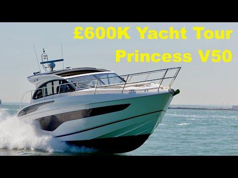 Yacht Tour : Princess V50