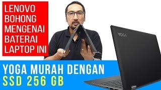Laptop 2-in-1, Touch Screen, 4 Core, SSD 256GB yang Murah: Review Lenovo Yoga 330