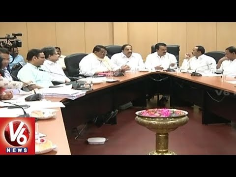 Cabinet Sub Committee Holds Review Meet On Village Person In-charges | V6 News