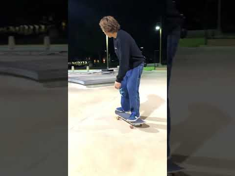 Jake Hayes and Franky Villani at Alga Norte Skatepark