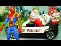 Человек Паук и похитители киндеров - #мультик с игрушками на русском языке! #Мультики про машинки