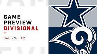 Dallas Cowboys vs. Los Angeles Rams | Divisional Round Game Preview | Move the Sticks