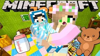 Minecraft-Lie Kelly Adventures- BABYSITTING FOR THE FIRST TIME!