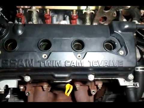 Nissan Sunny Motor Qg15 De Mp4 Youtube