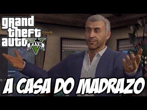 GTA V - Como entrar na casa do Martin Madrazo