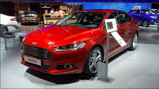 Ford Mondeo Limousine 2015 In detail review walkaround Interior Exterior