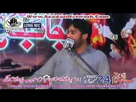 Zakir Waseem Baloch || Majlis 24 Feb 2018 Kāmoke ||