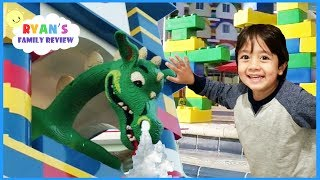 LEGOLAND HOTEL TOUR, Giant Lego Swimming Pool, and Amusement Park for Kids Compilation Video