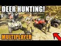 THE HUNTER | HUNTING WHITETAIL DEER WITH 4 HUNTERS.....AND A MOOSE!