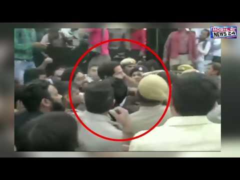 Breaking News | मनोज तिवारी और केजरीवाल में झड़प | Viral video | Manoj tiwari latest | News 24.