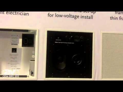 CEDIA 2015: Meridian Audio Reveals the DSP 320 In-Wall and In-Ceiling Loudspeakers