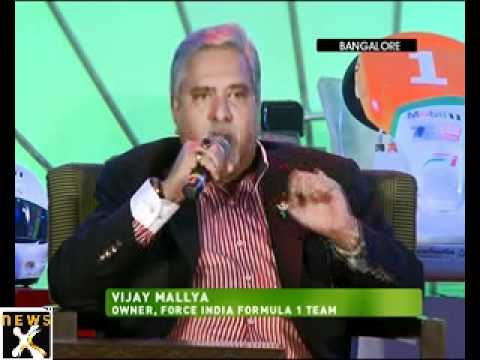 Vijay Mallya hunts for Indian Formula One driver