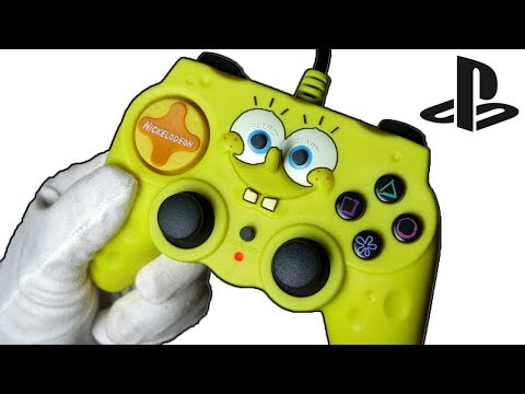 SPONGEBOB GAMEPAD UNBOXING! Playstation Controller Call of Duty Zombies Gameplay