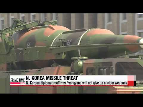 N. Korea could test long-range missile in October: envoy   북한, 10월 장거리 미사일 발사 가능