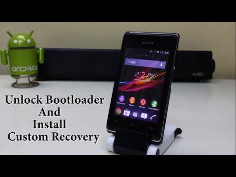 Unlock Bootloader & Install Custom Recovery On Any Xperia Device!