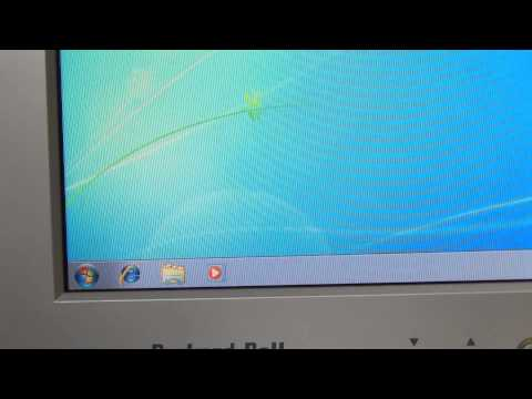Windows 7 running on HP t5720 thin client