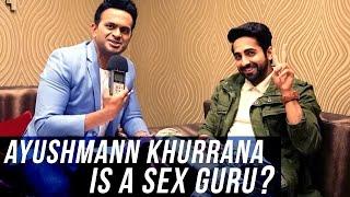 Ayushmann Khurrana wants to be a Sex Guru! | Meri Pyaari Bindu
