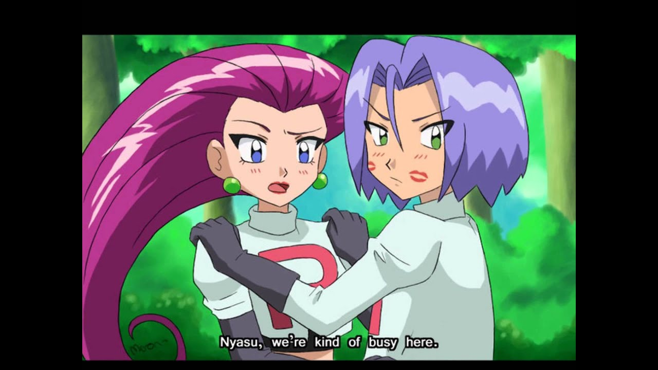Jessie and James = Team Rocket love - YouTube