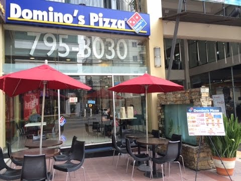 Dominos Pizza A. Venue Mall Makati Avenue Manila Philippines by HourPhilippines.com