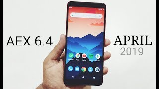 AEX 6.4 Pie 9.0 For Redmi Note 5 Pro || April 2019 Build | Better Than AOSiP
