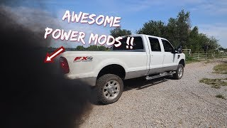 My Cummins Powered F350 Gets Big POWER MODS