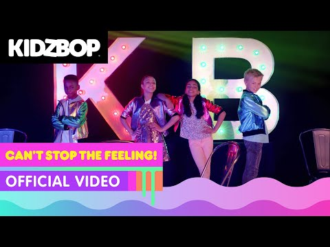 KIDZ BOP Kids - Can't Stop The Feeling! (Official Music Video) [KIDZ BOP]