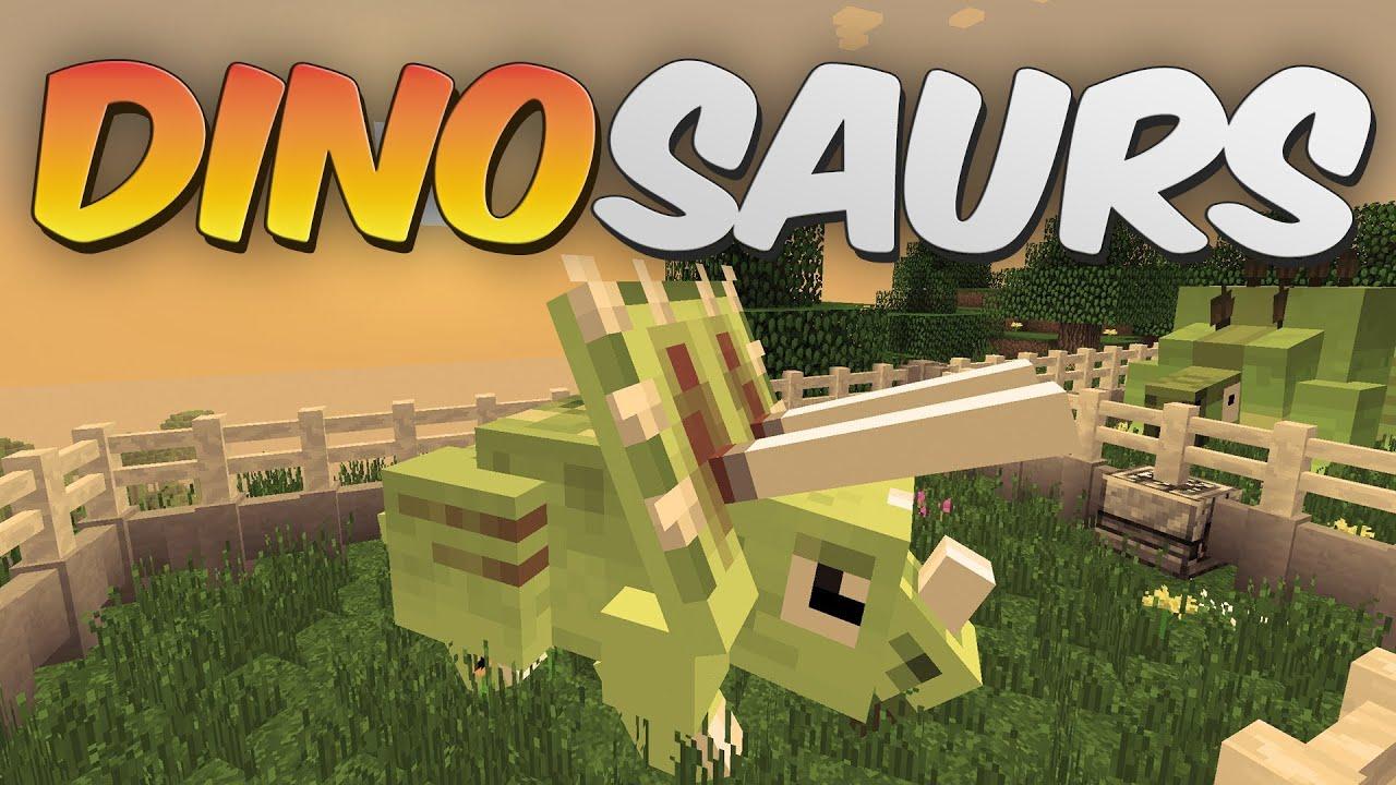 Dinosaurs in Minecraft