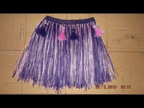 Como hacer faldas de papel crepe - Imagui