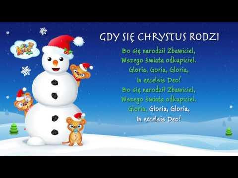 Gdy Się Chrystus Rodzi - Polskie Kolędy - Karaoke