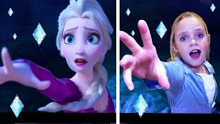 Into the Unknown!  Frozen 2 Elsa Song (Cover)