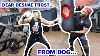 I DITCHED DESHAE FROST TO TRAIN DDG FOR THE FIGHT ON THURSDAY | MOTIVATION