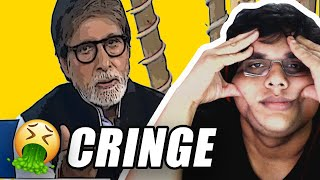 CRINGE MOMENTS WITH AMITABH BACHCHAN