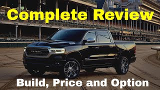 2019 Dodge Ram 1500: Build & Price Review - Trims - Gallery - Features - Specs - Engines - 4X4