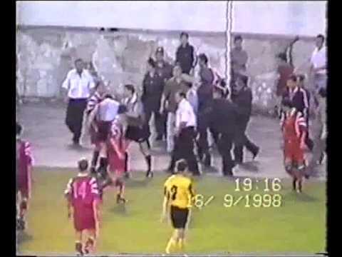Спартак Нальчик Арсенал Тула 1998 год Избиение судьи