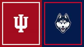 First Half Highlights: Indiana vs. UConn | B1G Basketball