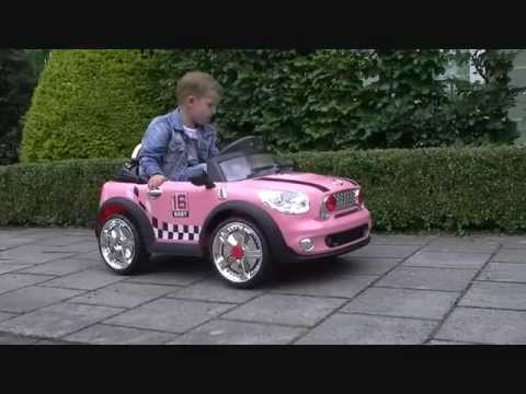 mini car pink roze mini auto met afstandsbediening youtube. Black Bedroom Furniture Sets. Home Design Ideas