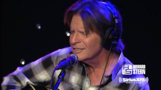 """John Fogerty Performs """"Have You Ever Seen The Rain?"""" For Howard Stern"""
