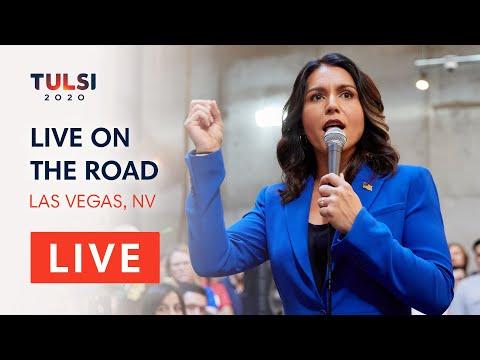 Tulsi Gabbard LIVE on the road - Las Vegas Town Hall - Las Vegas, NV