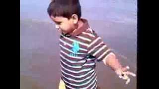 My son - Cox Bazar, Bangladesh .