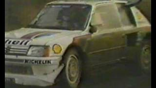 FINAL group B WRC event Olympus Rally 1986