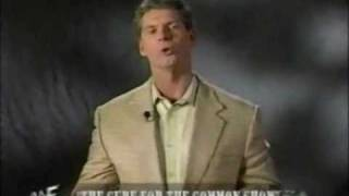 Vince McMahon introduces the Attitude Era