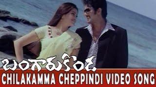 Chilakamma Cheppindi Video Song || Bangaru Konda Movie || Rishi, Navneet Kaur
