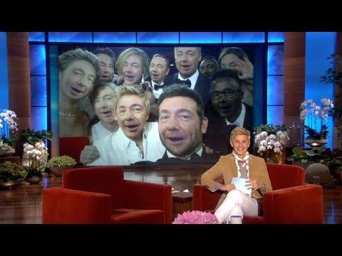 Reenact Ellen's Oscar Selfie
