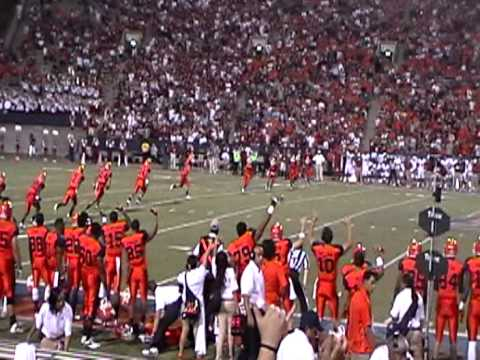 UTEP Kickoff vs Oklahoma. Big Kick 2012.