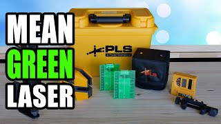 PLS 180G Green Cross Line Laser Review - Pacific Laser Systems