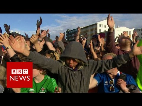 Iceland's Viking War Chant - BBC News