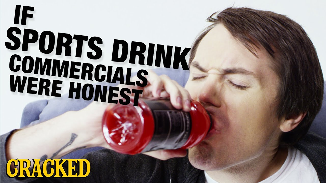 Sports Drinks Adverts if Sports Drink Commercials