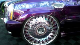 DUBSandTIRES.com 2009 Cadillac Escalade Review 32 inch Dub Spinners Chrome Luxury Wheels Asanti Rims