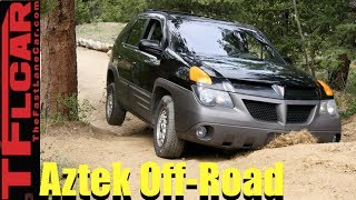 We Take the World's Ugliest Car Off-Road (Gold Mine Hill) and it Kicks Butt!